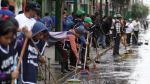 Gamarra: Iniciaron limpieza de calles en emporio comercial de La Victoria - Noticias de anuncios publicitarios