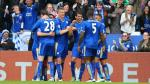 Leicester goleó 4-0 al Swansea y sigue líder de la Premier League. (EFE)