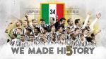 Juventus se proclamó campeón de la Serie A por quinta vez consecutiva [Video] - Noticias de andrea pirlo