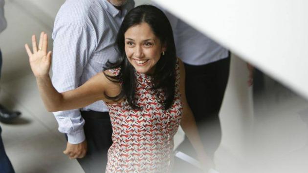 Nadine Heredia arremetió contra Keiko Fujimori en Twitter. (Anthony Niño de Guzmán)