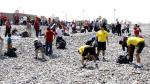 Callao: Retiran 10 toneladas de basura de la playa Carpayo - Noticias de el callao