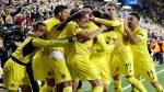 Liverpool perdió 1-0 ante el Villarreal en las semifinales de la Liga Europa. (EFE)