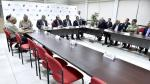 Desaire. Octavio Salazar y su equipo no acudió a reunión con ministro José Luis Pérez Guadalupe. (Mininter)