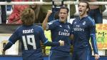 Real Madrid vs. Real Sociedad en vivo se enfrentan por la Liga española. (EFE)