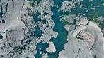 ¿Por qué se ven misteriosas líneas en el fondo del Mar Caspio desde el espacio? - Noticias de pasajero