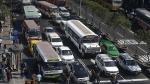 Avenida Abancay: Esta es la congestión vehicular que se vive a diario [Fotos] - Noticias de transporte gustavo guerra garcia