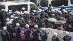 Alemania: Enfrentamientos entre izquierdistas y antirefugiados dejan 400 detenidos [Fotos] - Noticias de accidente