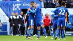 Leicester City se enfrenta al Manchester United. (EFE)