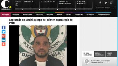 Gerson Gálvez, alias 'Caracol', el nuevo