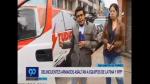 Los periodistas también son víctimas de la inseguridad. (Captura)