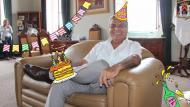 Burgomaestre Elidio Espinoza negó que haya celebrado su cumpleaños en la comuna. (USI)