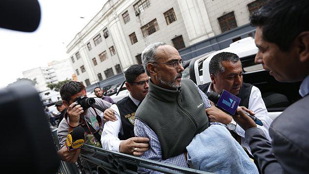 Manuel Burga, quien se encuentra recluido en el penal de Ancón, podría ser extraditado a EE.UU. por caso FIFA. (Luis Gonzales)