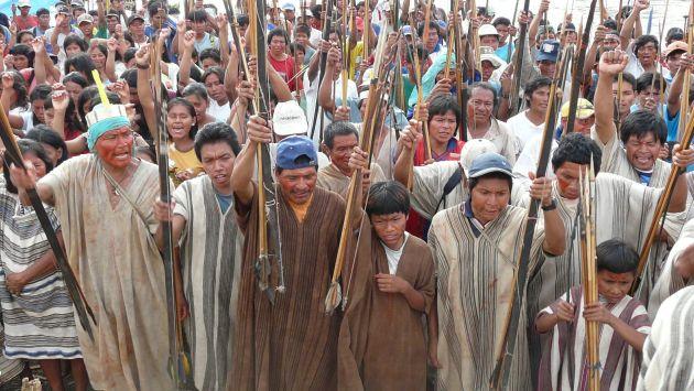 En pie de lucha. Habitantes de Belén Plantanoyacu y Sión piden una remedición a la compañía. (USI)