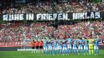 Hannover 96: Este es el emotivo homenaje tras la muerte de joven promesa [Fotos] - Noticias de bayern munich claudio pizarro