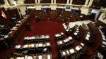 Congreso: Bancadas no se ponen de acuerdo en elección del defensor del Pueblo - Noticias de concertacion parlamentaria carlos bruce