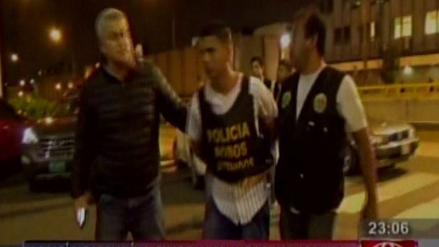 Barrio Chino: Policía capturó a presuntos delincuentes que asaltaron a cuatro cambistas. (América)