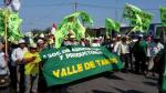 Arequipa: Marcha pacífica en último día de paro contra Tía María [Fotos y video] - Noticias de paro minero en arequipa