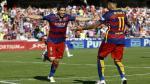 Barcelona goleó 3-0 a Granada con triplete de Luis Suárez y se coronó campeón de la Liga española [Fotos y video] - Noticias de sergio martinez
