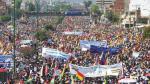 Bolivia: Oposición presentó demanda al Tribunal Constitucional contra el uso de dinamita en protestas - Noticias de acción de inconstitucionalidad