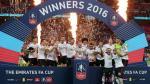 Manchester United venció 2-1 al Crystal Palace y se coronó campeón de la FA Cup. (AP)