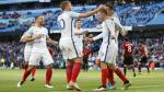 Inglaterra venció 2-1 a Turquía con gol de Jamie Vardy. (Reuters)
