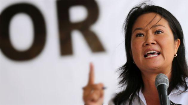 """Keiko Fujimori: """"PPK agrede y hiere a los jóvenes con sus declaraciones"""""""