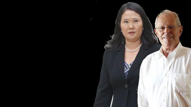 Keiko Fujimori obtiene 46% y PPK alcanza 38.9% en intención de voto, según CPI