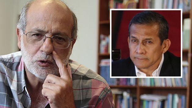 Daniel Abugattás cuestionó el posible viaje a Francia del presidente Ollanta Humala. (Perú21)