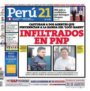 Infiltrados en PNP