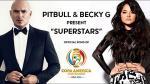 Copa América Centenario: Pitbull cantará el tema oficial del torneo bautizado como 'Superstar' - Noticias de claudia leitte