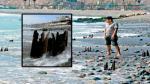 Costa Verde: Retirarán los pilotes oxidados incrustados en la playa Barranquito - Noticias de nancy duenas