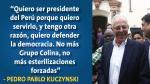 Debate presidencial: Estas son las frases que dejaron Keiko Fujimori y PPK. (Elaboración Perú21)