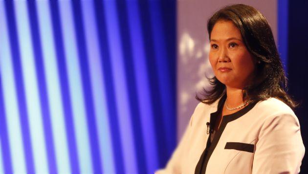 """Keiko Fujimori: """"Lamento que Verónika Mendoza no sea consistente con sus convicciones"""""""