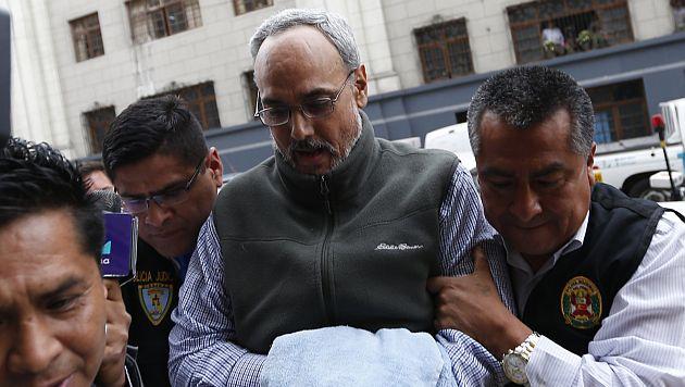 Declaran procedente pedido de extradición a Estados Unidos de Manuel Burga. (USI)