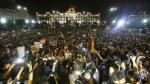 Hoy a las 5pm se desarrollará la marcha 'No a Keiko' en el Centro de Lima. (Atoq Ramón /Perú21)