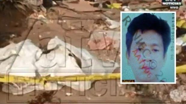 Hallan cadáver de hombre que habría sido acuchillado en descampado de Huaycán. (Captura de video)