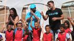 Ricky Martin visitó y jugó con niños sirios refugiados en Líbano - Noticias de corazón informal
