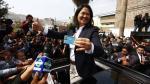 Keiko Fujimori llegó a colegio Virgen de la Asunción para ejercer su voto [Video] - Noticias de susana higuchi