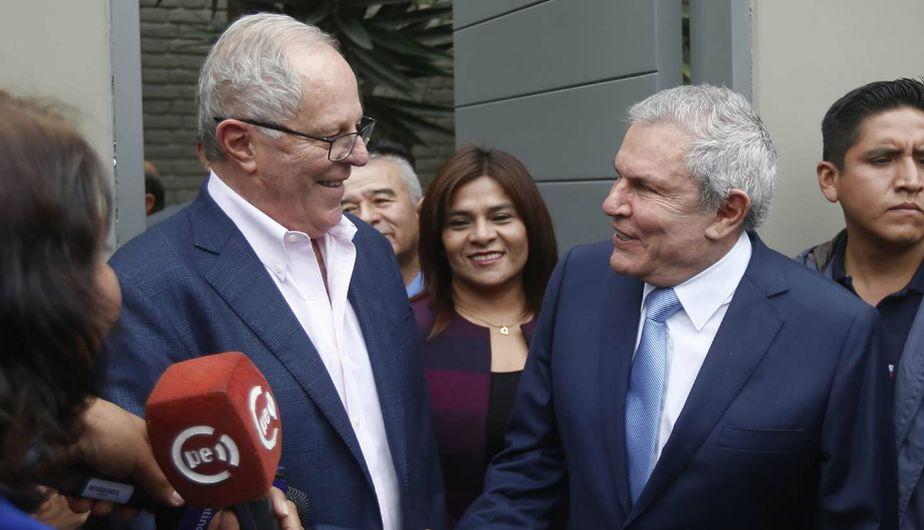 PPK tras reunión con Luis Castañeda: 'Ha sido una conversación muy positiva' [Fotos y video]
