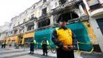 Centro de Lima: Inmueble del Jirón de la Unión es declarado inhabitable tras incendio - Noticias de mario casaretto