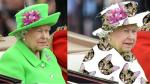 Twitter: Reina Isabel II es blanco de burlas por su traje verde [Fotos y Video] - Noticias de buckingham