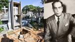 Rómulo Gallegos: Su tumba fue profanada y se habrían llevado restos del escritor [Fotos] - Noticias de la patilla
