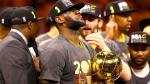 Cleveland Cavaliers de LeBron James derrotaron 93-89 a Golden State Warriors y campeonaron en la NBA - Noticias de lebron james
