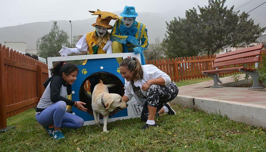 Los perritos pueden disfrutar del Parque Texcoco