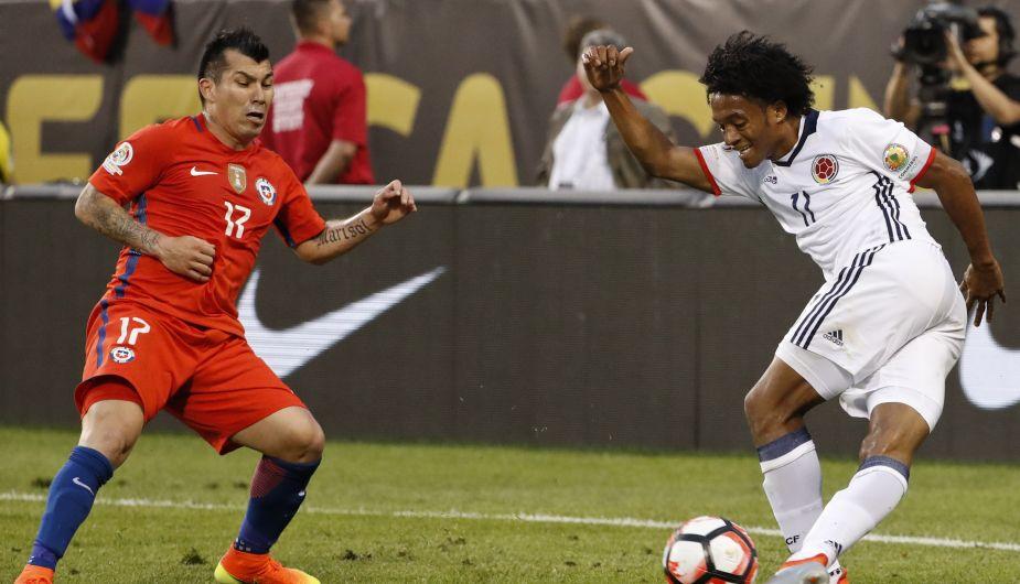 Chile le ganó 2-0 a Colombia y ahora sueña con el bicampeonato
