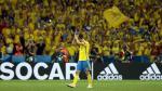 Zlatan Ibrahimovic se despidió de la selección sueca con derrota ante Bélgica. (EFE)