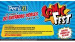 Perú21 te lleva al Comic Fest: Entérate cómo ganar una entrada doble. (Perú21)