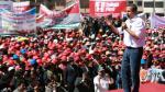 Ollanta Humala aseguró que la razón está de su lado. (Andina)