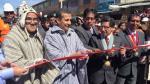 Ollanta Humala participó de la inauguración de la carretera La Oroya – Huayre de 72.1 kilómetros, en Junín. (Andina)