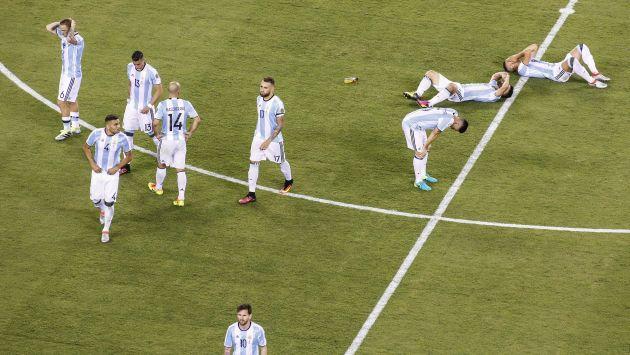 Argentina no puede romper una maldición de 23 años sin títulos. (EFE)